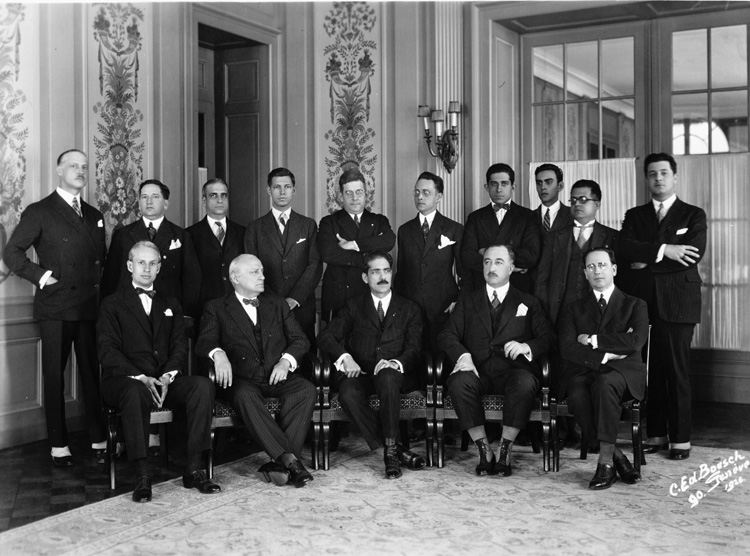 a history of the establishing of the league of nations after world war one The treaty of versailles and the league of nations literary digest  believed that fundamental flaws in international relations created an unhealthy climate that led inexorably to the.